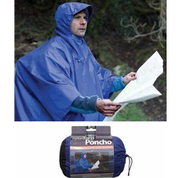 Sea to Summit Nylon Tarp Poncho Navy