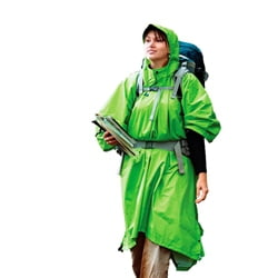Sea to Summit Nylon WP Tarp Poncho Green
