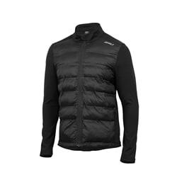 2Xu Heat Half Puffer Jacket Men S Black/Black