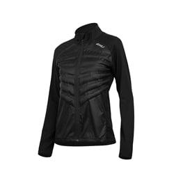 2Xu Heat Half Puffer Jacket Women XS Black/Black